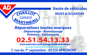 GARAGE CHAILLOT-MARTINEAU
